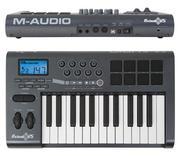 Продам мидиклавиатуру  M-audio axiom 25