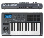 Купить (продаю) миди-клавиатуру M-Audio Axiom 25