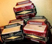 Гармони,  баяны,  аккордеоны
