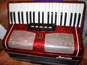 продам  аккордеон АТЛАС в хорошем  состоянии